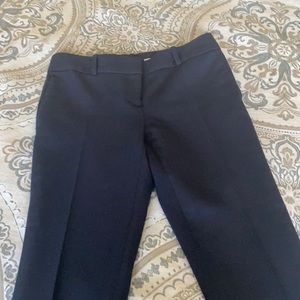 Navy Ankle Length Pants